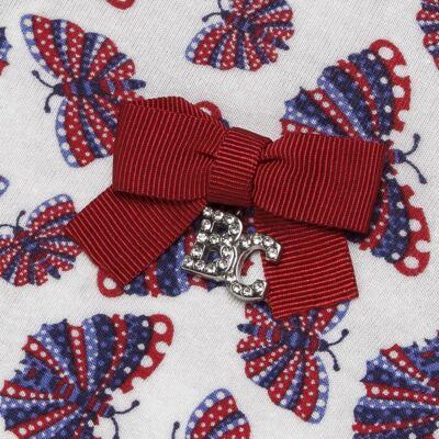 Imagem 3 do produto Blusinha c/ Shorts frufru para bebe em viscolycra Butterflies - Baby Classic - 21001628 BLUSINHA M/C COM SHORTS VISCOLYCRA BUTTERFLY-3