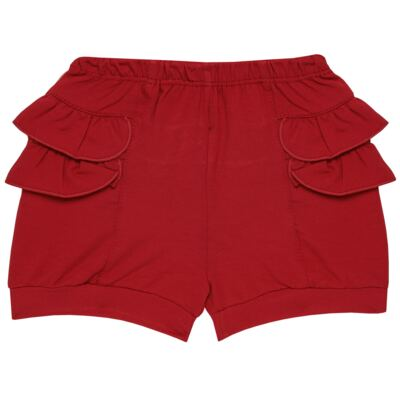 Imagem 6 do produto Blusinha c/ Shorts frufru para bebe em viscolycra Butterflies - Baby Classic - 21001628 BLUSINHA M/C COM SHORTS VISCOLYCRA BUTTERFLY-M