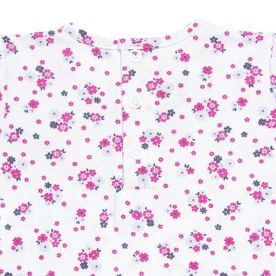 Imagem 4 do produto Bata longa com Legging  para bebe em cotton Tropical - Vicky Lipe - 18520001.53 CONJ.BATA C/LEGGING - COTTON-M