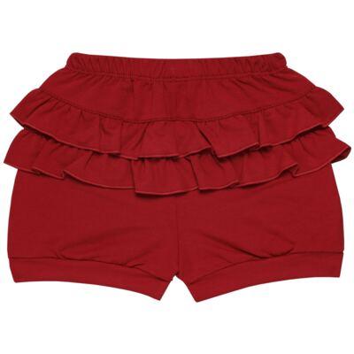 Imagem 5 do produto Blusinha c/ Shorts frufru para bebe em viscolycra Butterflies - Baby Classic - 21001628 BLUSINHA M/C COM SHORTS VISCOLYCRA BUTTERFLY-GG