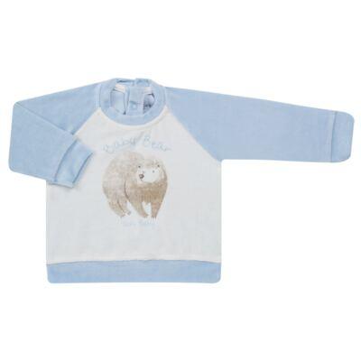 Imagem 2 do produto Blusão com Calça para bebe em plush Forest Bear - Vicky Baby - 1797-4250 CJ BLUSÃO URSO FOREST -1