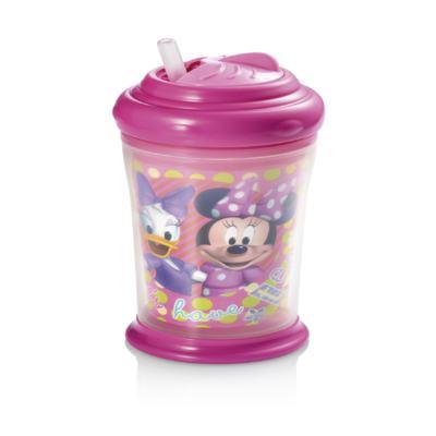 Imagem 2 do produto Copo Térmico com Canudo de Silicone Minnie Multikids Baby - BB089 - BB089