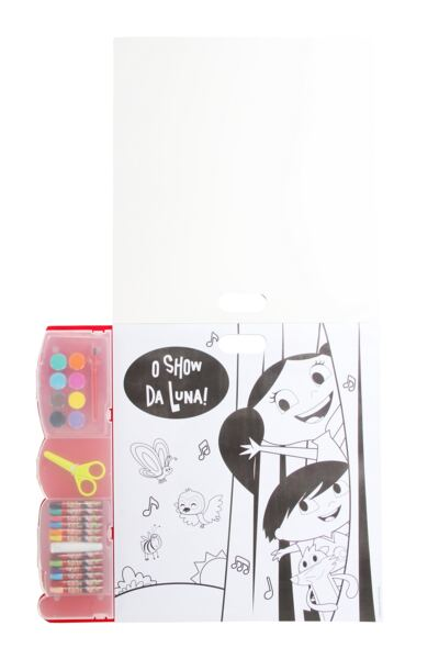 Imagem 2 do produto Kit de Pintura Show Da Luna Multikids - BR480