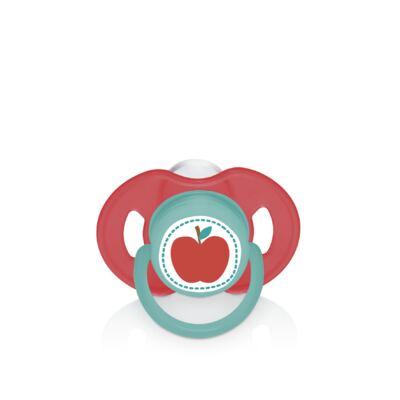 Imagem 1 do produto Chupeta Nature Pp Vermelha Ortoflex Tam 1 (0-6 M) Multikids Baby - BB132