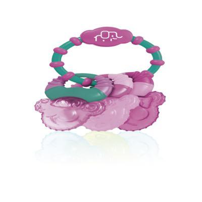 Imagem 1 do produto Mordedor com Gel Cool Rings Rosa Multikids Baby - BB167
