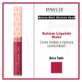 Batom Líquido Mate Payot - Coleção Mariana Saad - Boca Tudo