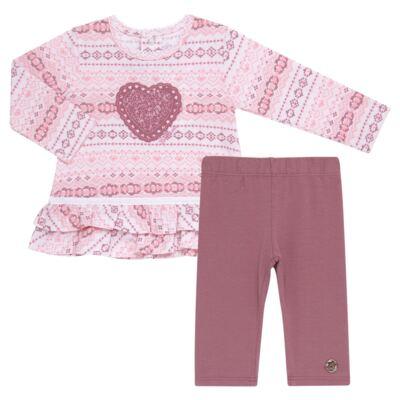 Imagem 1 do produto Bata com Legging para bebe em cotton Ethnic - Baby Classic - 18210002.20 BLUSA C/ LEGGING-MALHA/COTTON-2