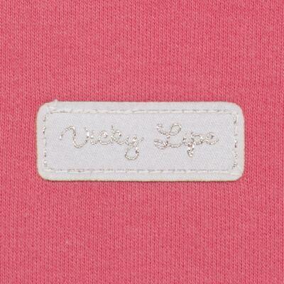 Imagem 3 do produto Body curto para bebe em suedine Candy - Vicky Lipe - BC1379 BODY MC SUEDINE CANDY -M