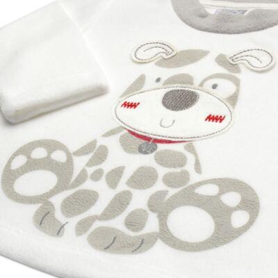 Imagem 3 do produto Blusão com Calça em microsoft Little Puppy - Vicky Lipe - BCCP947 BLUSÃO M/L C/ CALÇA MISCROSOFT CACHORRINHO-3