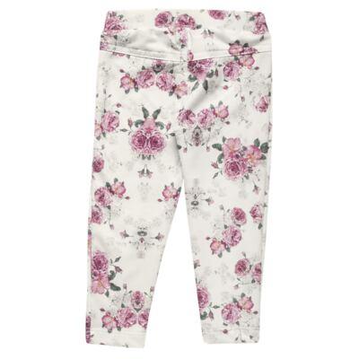 Imagem 5 do produto Blusa com Legging para bebe em cotton Ballerina Camelli - Charpey - CY14729.138 CONJ. BLUSA C/ LEGGING OFF WHITE -M
