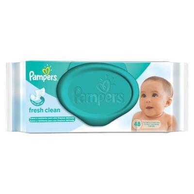 Imagem 3 do produto Kit Pampers Fralda Descartável Confort Sec G 70 Unidades + Lenço Umedecido Fresh Clean 48 Unidades