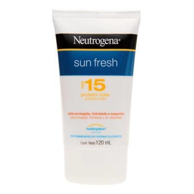 Imagem 1 do produto Neutrogena Sun Fresh Protetor Solar Fps 15 120 ML