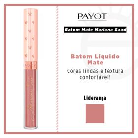 Batom Líquido Mate Payot - Coleção Mariana Saad - Lideranca