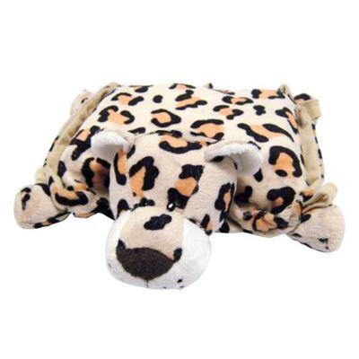 Imagem 2 do produto Travesseiro com Cobertor 3 em 1 (12m+) Leopardo - Animal Planet - AP60124 Travesseiro com Cobertor 3 em 1 (12m+) Leopardo