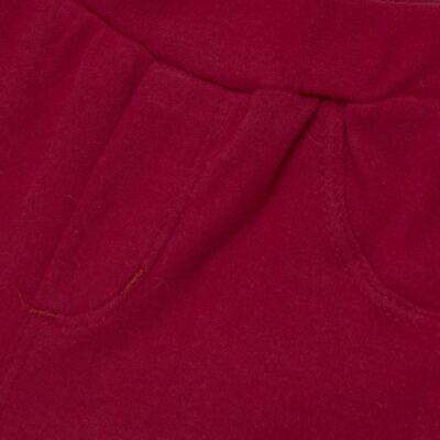 Imagem 6 do produto Body curto com Shorts para bebe em algodão egípcio c/ jato de cerâmica e filtro solar fps 50 Moranguinhos - Mini & Kids - BBI1745 CONJ BODY M/C C/ SHORTS SUEDINE MORANGOS-P