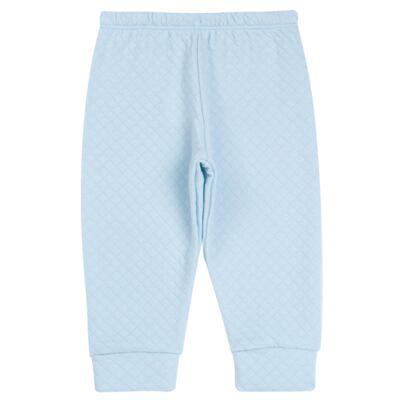 Imagem 5 do produto Body longo com Calça (mijão) em suedine Azul Matelassê - Grow Up - 01020218.0003 CONJ. PG BEAR FRIEND AZUL-G