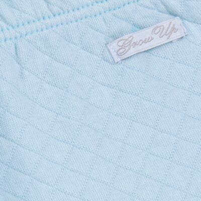 Imagem 8 do produto Body longo com Calça (mijão) em suedine Azul Matelassê - Grow Up - 01020218.0003 CONJ. PG BEAR FRIEND AZUL-RN