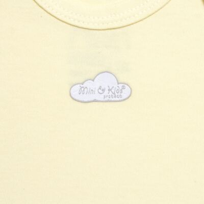 Imagem 2 do produto Body curto para bebe em suedine Baby Protect Amarelo - Mini & Kids - BDTC1736 BODY M/C TRANSP. SUEDINE AMARELO-RN