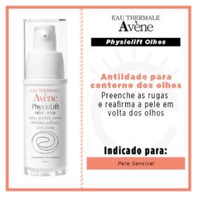 Avene Physiolift Olhos Antiidade - 15ml