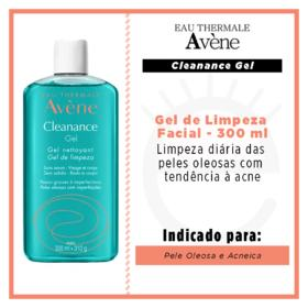 Gel de Limpeza Facial Avène Cleanance - 300ml