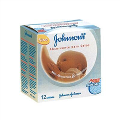 Imagem 1 do produto Protetor Seios Johnson's 12 Unidades