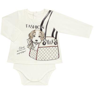 Imagem 2 do produto Body Bata com Legging para bebe cirré Fashion Glam - Mini & Kids - CJVL0001.233 CONJ.BODY C/LEGGING - VISCONFORT-M