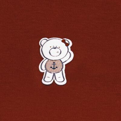 Imagem 3 do produto Body curto com Shorts em suedine Sea Sailor - Vicky Lipe - CSH942 CJ. BODY MC C SHORT SUEDINE URSA NAVY-1