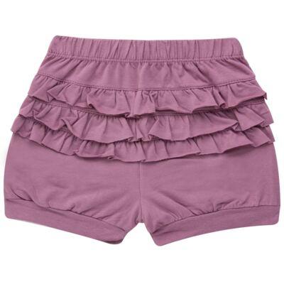 Imagem 4 do produto Blusinha com Shorts babadinhos para bebe em spandex Dolce Amore - Baby Classic - 18690001.20 BLUSINHA M/C COM SHORTS COTTON TRICOT-1