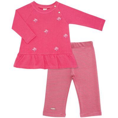 Imagem 1 do produto Bata com Legging para bebe em suedine Loire - Baby Classic - 1993964 VESTIDO M/L C/LEGGING SUEDINE FLORAL 2-1