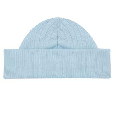 Imagem 2 do produto Kit c/ Touca, Luva e Sapatinho em suedine em high comfort Azul - Vicky Lipe - 46010001.31 KIT TOUCA/LUVA E SAPATINHO - SUEDINE