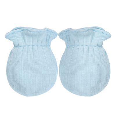 Imagem 4 do produto Kit c/ Touca, Luva e Sapatinho em suedine em high comfort Azul - Vicky Lipe - 46010001.31 KIT TOUCA/LUVA E SAPATINHO - SUEDINE