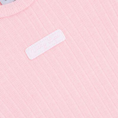 Imagem 3 do produto Body longo com Calça para bebe Sleep Comfort Rosa - Vicky Lipe