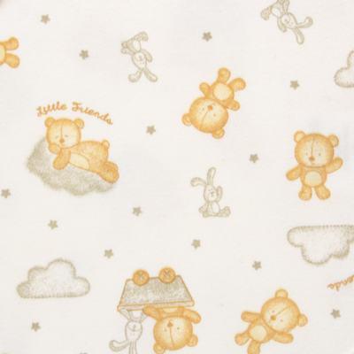 Imagem 2 do produto Body curto para bebe em suedine Naturé - Baby Classic - BSM511.294 BODY M/C AVULSO - SUEDINE CAQUI-RN