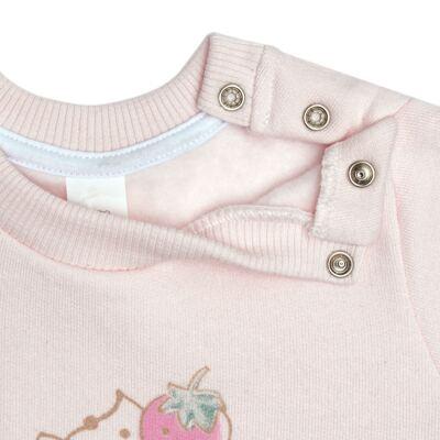 Imagem 4 do produto Blusão com Calça para bebe em moletom Cupcake - Mini Mix - LTCM03 CONJUNTO MOLETOM CUPCAKE ROSA BB/CORAL-M