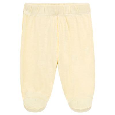 Imagem 4 do produto Body longo com Calça para bebe em suedine Amarelo - Vicky Lipe - 1822071.170 BODY M/L TRANSP MIJÃO SUEDINE HC AMARELO-RN