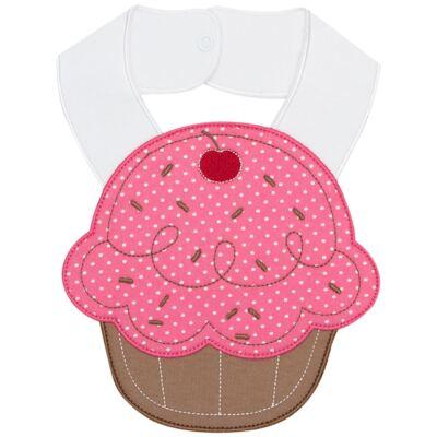 Imagem 1 do produto Babador atoalhado Faces Cupcake - Mini Mix - MXBBI623 BABADOR ATOALHADO DOCE