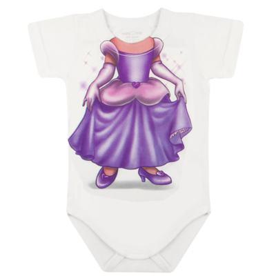 Imagem 2 do produto Body curto para bebe em malha Mini Princesa - Mini Mix - MXBSM1613 BODY CURTO EM MALHA MINI PRINCESA-GG
