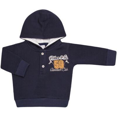 Imagem 2 do produto Blusão com capuz e Calça em moletom Wharton - Baby Classic - 59175 CONJ.BLUSÃO C/CAPUZ MOLETON SCOOTER-GG