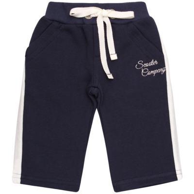 Imagem 4 do produto Blusão com capuz e Calça em moletom Wharton - Baby Classic - 59175 CONJ.BLUSÃO C/CAPUZ MOLETON SCOOTER-3