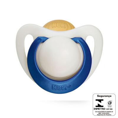 Imagem 3 do produto Chupeta Genius látex Boy Tam 2 (6m+) - NUK