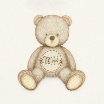 Imagem 2 do produto Body curto para bebe em Pima Cotton Supreme Prime Bear Marfim - Mini & Kids - BDMC0001.65 BODY MANGA CURTA - SUEDINE-P