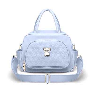 Imagem 3 do produto Bolsa maternidade para bebe Veneza + Frasqueira Térmica Milão + Kit Acessórios Golden Koala Azul - Classic for Baby Bags