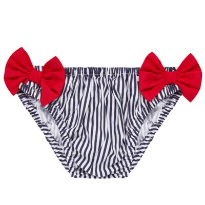 Imagem 4 do produto Conjunto de banho Sailor: Biquini + Chapéu - Roana - BSTR0901008 Banho de Sol c/ Top Marinho Âncora-M