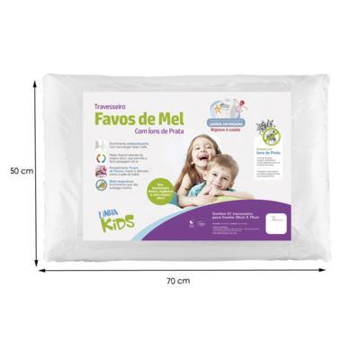 Imagem 3 do produto Travesseiro Favos de Mel Kids Antissufocante - Fibrasca
