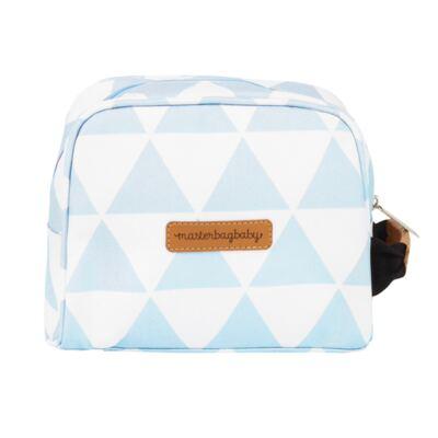 Imagem 7 do produto Mala maternidade com Rodízio + Bolsa Everyday + Frasqueira Organizadora + Necessaire Manhattan Azul - Masterbag