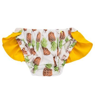 Imagem 3 do produto Conjunto de banho Pineapple: Bumbum + Faixa de Cabelo - Roana - BAST0904013 BANHO DE SOL TURBANTE 124 AMARELO-G