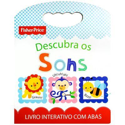 Imagem 1 do produto Livro infantil Descubra os Sons (12m+) - Fisher Price - MAT10525 LIVRO INFANTIL OS SONS FISHER PRICE MATTEL