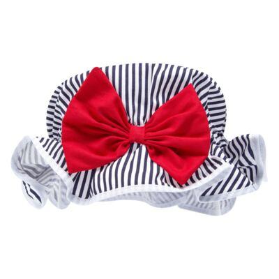 Imagem 5 do produto Conjunto de banho Sailor: Biquini + Chapéu - Roana - BSTR0901008 Banho de Sol c/ Top Marinho Âncora-G