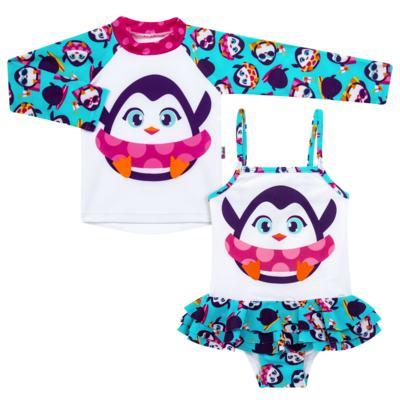 Imagem 1 do produto Conjunto de banho Pinguim: Camiseta + Maiô - Puket - KIT PK PINGUIM Camiseta + Maio Pinguim Puket-6