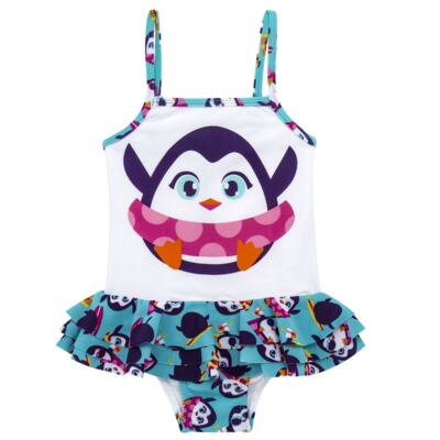 Imagem 4 do produto Conjunto de banho Pinguim: Camiseta + Maiô - Puket - KIT PK PINGUIM Camiseta + Maio Pinguim Puket-6